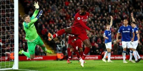 (VIDEO) Liverpool salva los 3 puntos en el último segundo ante el Everton