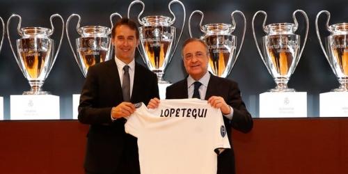 (VIDEO) Lopetegui presentado en Real Madrid como nuevo entrenador