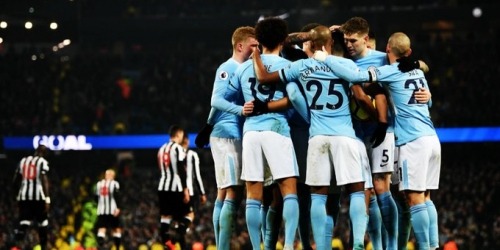(VIDEO) Mancherster City ganó 3-1 al Newcastle United