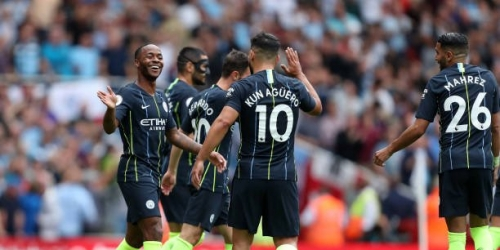 (VIDEO) Manchester City inició perfecto en su defensa por el título