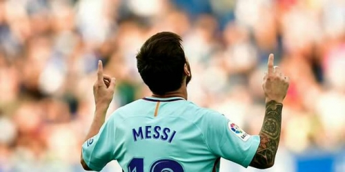 (VIDEO) Messi logró su gol 350 y 351 en LaLiga
