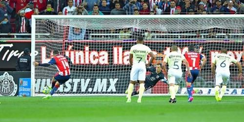 (VIDEO) México, las Chivas se llevaron el clásico frente al América en la Liga MX