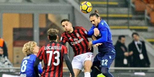 (VIDEO) Milan y Lazio igualaron por Copa Italia