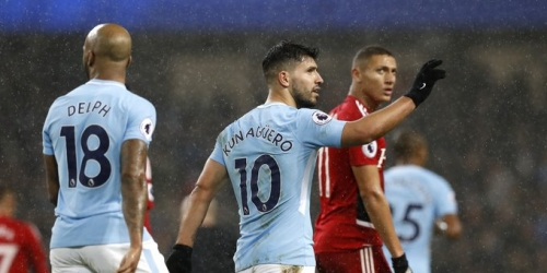 (VIDEO) Poker de Aguero ante el Leicester