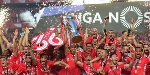 (VIDEO) Portugal, el Benfica goleó al Vitória Guimarães y vuelve a gritar campeón!