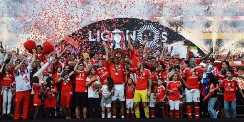 (VIDEO) Portugal, el Benfica volvió a coronarse campeón