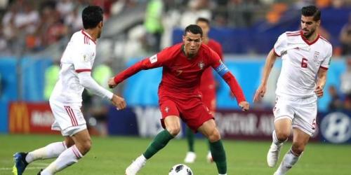 (VIDEO) Portugal empató con Irán y pasó como segundo del grupo