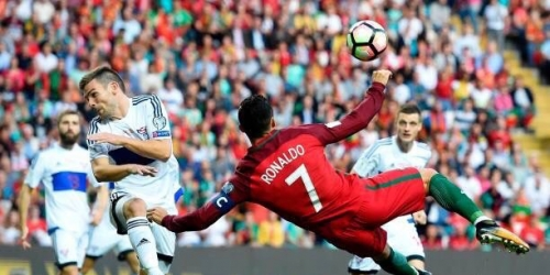 (VIDEO) Portugal golea a Islas Feroe