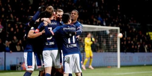 (VIDEO) PSV golea 4 a 0 al Heracles por la jornada 16