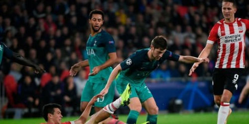 (VIDEO) PSV impide el triunfo del Tottenham