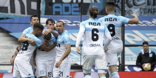 (VIDEO) Racing acabo con el liderazgo de Rosario Central