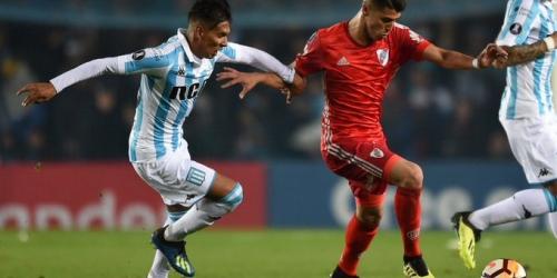 (VIDEO) Racing Club empató con River Plate en Copa Libertadores