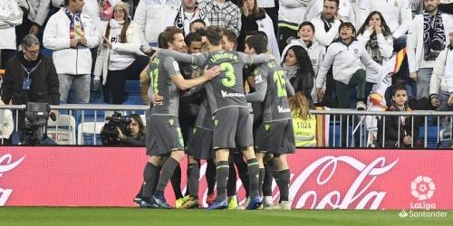 (VIDEO) Real Madrid cae derrotado ante el Real Sociedad
