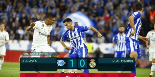 (VIDEO) Real Madrid pierde de visita en el último minuto
