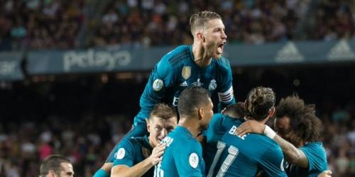 (VIDEO) Real Madrid vence al Barcelona en la ida de la SuperCopa de España