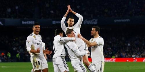 (VIDEO) Real Madrid venció al Betis y sigue vivo en LaLiga Santander