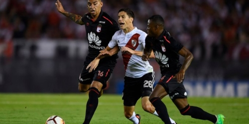 (VIDEO) River plate empató ante el Independiente Santa Fe