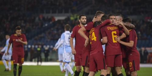 (VIDEO) Roma ofreció un espectáculo ante el SPAL