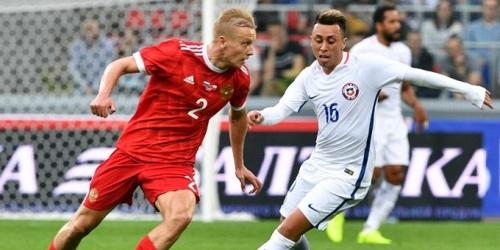 (VIDEO) Rusia y Chile empataron 1-1 en partido de preparación para la Copa Confederaciones