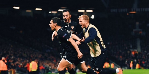 (VIDEO) Sevilla sorprende y gana en Old Trafford