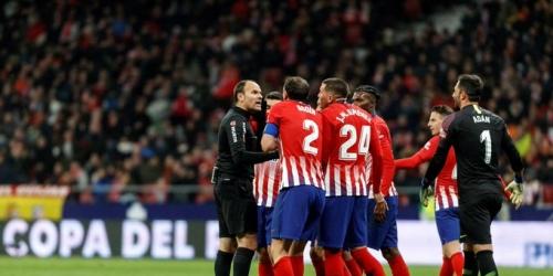 (VIDEO) Sorpresiva salida del Atlético de Madrid de la Copa del Rey