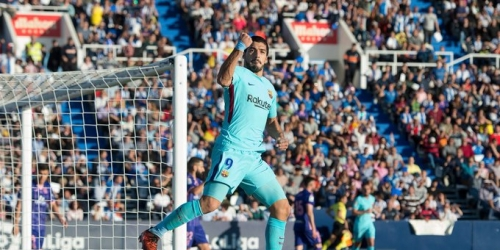 (VIDEO) Suárez se reconcilia con el gol y vence al Leganés