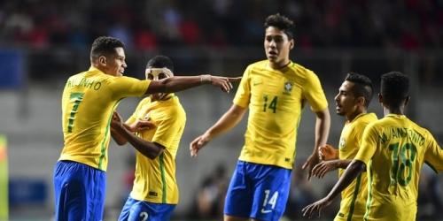 (VIDEO) Sudamericano Sub-17, Brasil se coronó campeón con una goleada frente a Chile