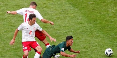 (VIDEO) Tablas entre Dinamarca y Australia por el Grupo C
