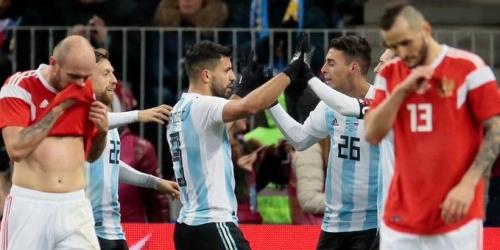 (VIDEO) Triunfo Argentino en Rusia