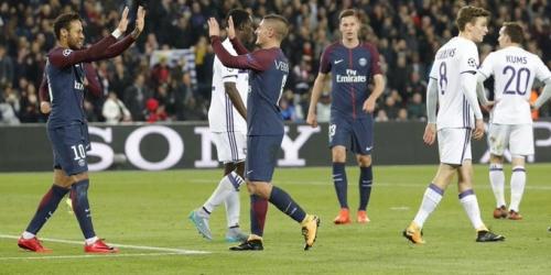 (VIDEO) Un PSG de récord ya esta en octavos de la Champions