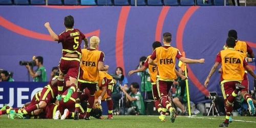 (VIDEO) Venezuela superó 2-1 a EEUU en el Mundial Sub-20 y está en semifinales
