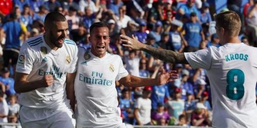 (VIDEO) Victoria del Real Madrid sobre la hora frente al Getafe