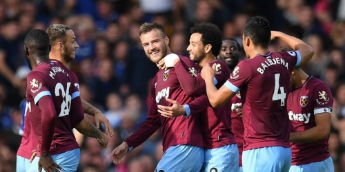 (VIDEO) West Ham festeja su primera victoria en la Premier League