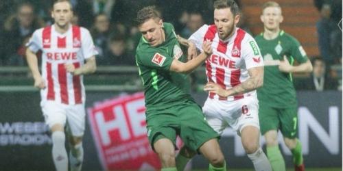 Werder Bremen derrotó al Colonia por la Bundesliga