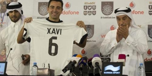 OFICIAL: Xavi fue presentado con el Al Saad