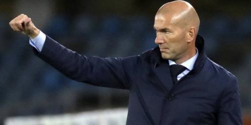 Zidane: No va a cambiar nada para el partido del domingo