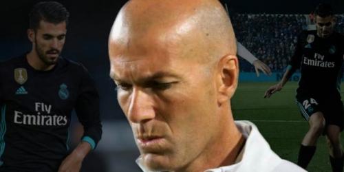 Zidane se disculpa con Dani Ceballos