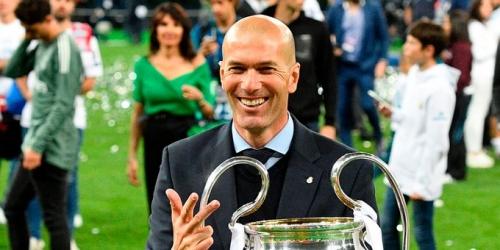 Zinedine Zidane consiguió una marca histórica
