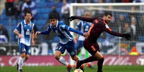 Entre lluvia y discusiones hubo empate en el Derby Catalán