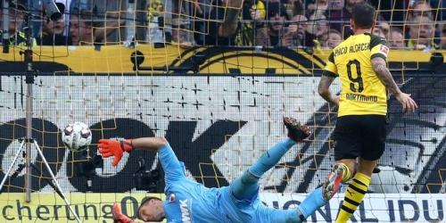 7 goles para que el Borussia sufra más de lo debido y supere al Ausburg