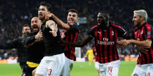 AC Milan salva 3 puntos en el último minuto contra el Udinese