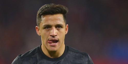 Alexis Sánchez no arranca de la mejor manera la temporada