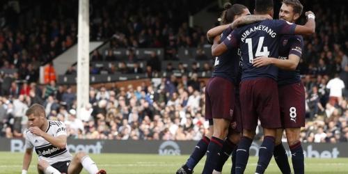 Arsenal golea al Fulham