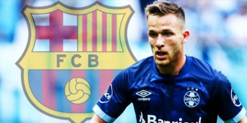 Arthur: estaría con un pie en el FC Barcelona