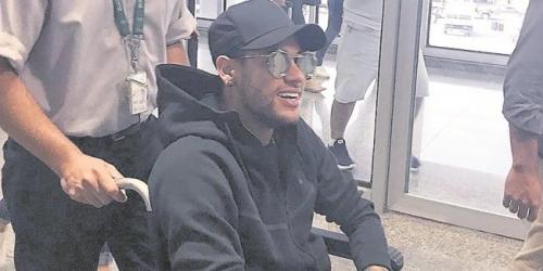 """Así será la operación """"galáctica"""" de Neymar"""