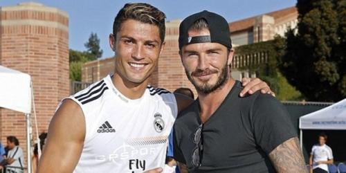 Beckham quiere fichar a Cristiano para la MLS