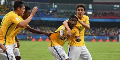 Brasil le ganó a España en el Mundial Sub 17