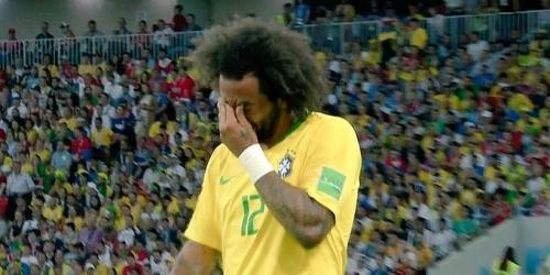 Brasil no contará con Marcelo para duelo con México