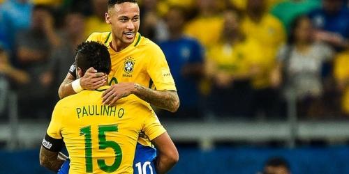 Brasil no dará protagonismo a Neymar en los amistosos