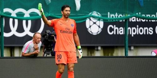 Buffon debutó en el PSG con derrota de 3 a 1